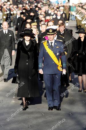 Princess Mathilde and Prince Philippe