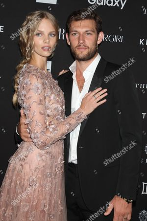 Stock Photo of Alex Pettyfer and Marloes Horst