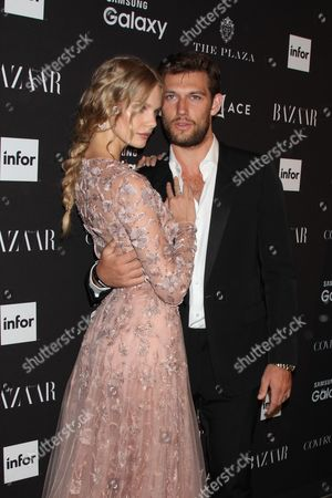 Stock Picture of Alex Pettyfer and Marloes Horst
