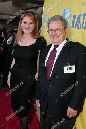 Sarah Ferguson and Gary Dartnall
