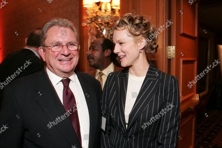Gary Dartnall and Laura Linney