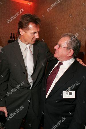 Liam Neeson and Gary Dartnall