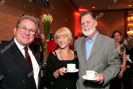 Gary Dartnall, Helen Mirren and Taylor Hackford