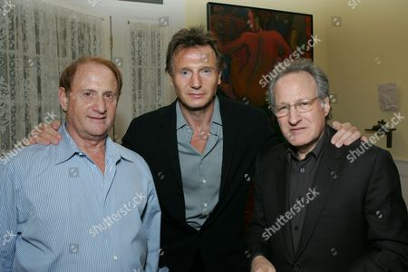 Mike Medavoy, Liam Neeson and Michael Mann