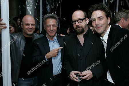 Michael Chiklis, Dustin Hoffman, Paul Giamatti and Shawn Levy