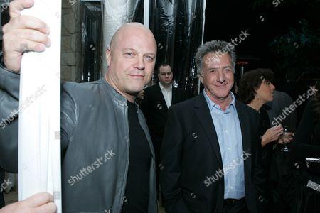 Michael Chiklis and Dustin Hoffman