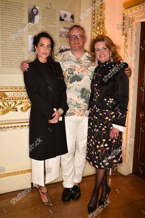 Julie Brangstrup, Giles Deacon, Erin Morris