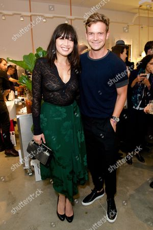 Stock Photo of Daisy Lowe and JJ Wilson