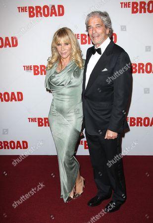 Rosanna Arquette and husband Todd Morgan