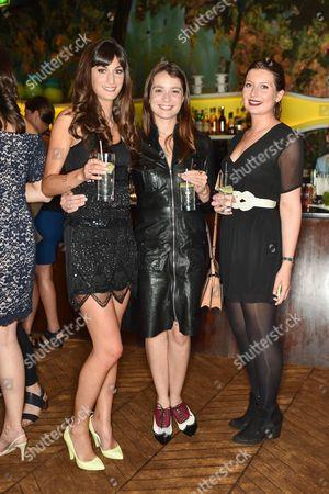 Stock Picture of Maya Magal, Jill Zimsen, Antonia Fenwicke-Clennell