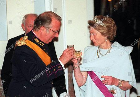 Editorial photo of PRINCESS JOSEPHINE CHARLOTTE OF LUXEMBOURG VISITS BELGIUM - 16 MAR 1999