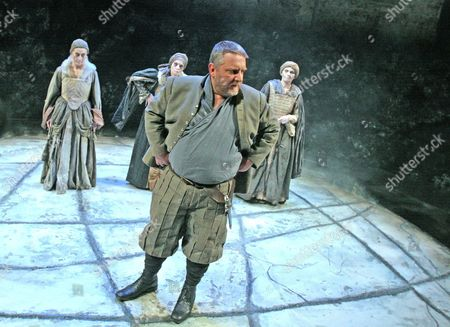 Stock Photo of Ann Firbank, Jane Thorne, Simon Russell Beale and Janet Whiteside