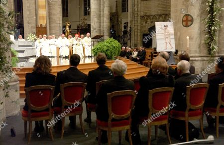 Solemn service for the memory of Grand Duchess Josephine Charlotte of Luxembourg