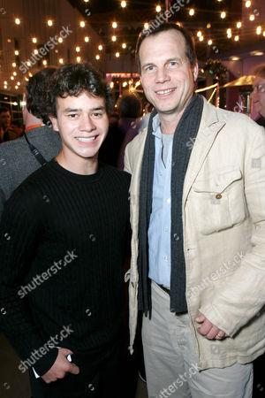 Daniel Logan and Bill Paxton