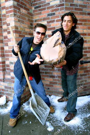Travis Aaron Wade and Andrew Keegan