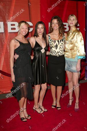 Jenna Spilde, Alicia Hall, Shannon Hughes and Stacy Klimek