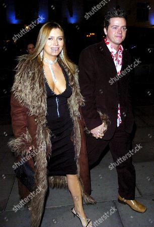 Tricia Penrose and her husband Mark Simpkin