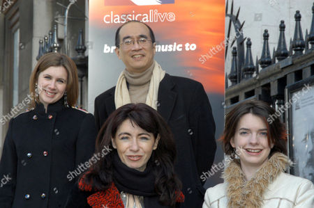 Chloe Hanslip, Derek Han, Evelyn Glennie and Catrin Finch.