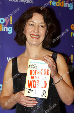 GERALDINE MCCAUGHREAN, SHORTLISTED AUTHOR FOR THE WHITBREAD BOOK AWARD WITH HER BOOK 'NOT THE END OF THE WORLD'