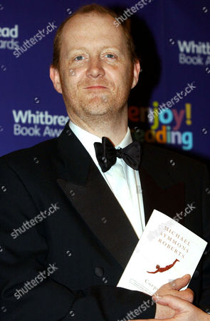 MICHAEL SYMMONS ROBERTS, SHORTLISTED AUTHOR FOR THE WHITBREAD BOOK AWARD WITH HIS BOOK 'CORPUS'