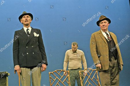 'Home' play - Oxford Stage Company - Christopher Godwin (Jack), David Hinton (Alfred) and David Calder (Harry)