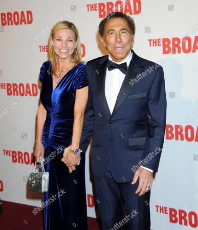 Steve Wynn and wife Andrea Hissom