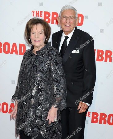 Eli Broad and wife Edythe Broad