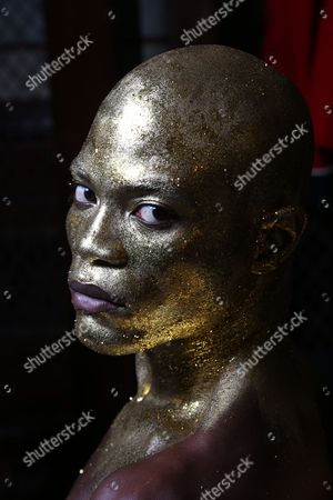 Stock Photo of Anthony BB Kaye Backstage