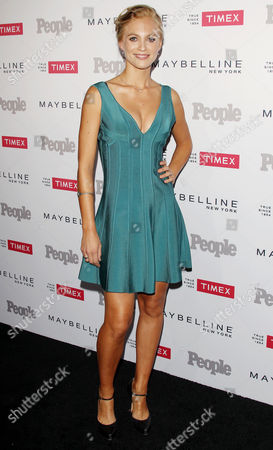 Editorial image of People's 'Ones to Watch' Party, Los Angeles, America - 16 Sep 2015