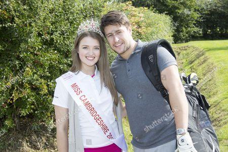 Stock Photo of Tony Discipline with Miss Cambridgeshire