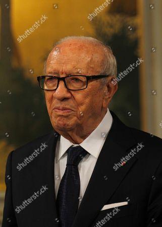 Stock Picture of Tunisian President Beji Caid Essebsi