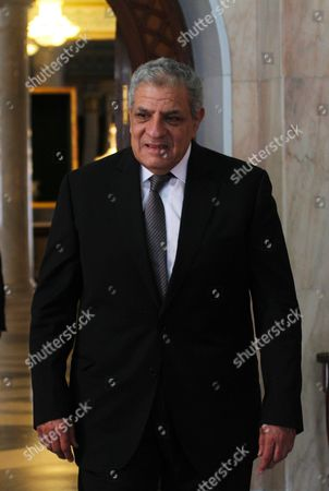 Stock Image of Egyptian Prime Minister Ibrahim Mahlab