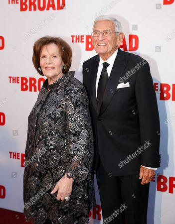 Edythe Broad and Eli Broad