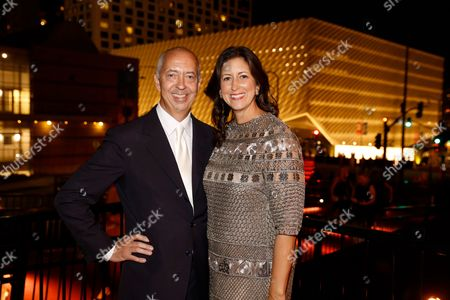 Editorial picture of The Broad Museum Inaugural Dinner, Los Angeles, America - 17 Sep 2015
