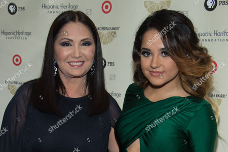 Ana Gabriel and Becky G
