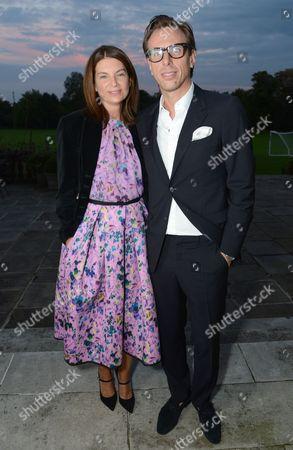 Natalie Massenet and Erik Torstensson