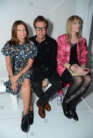 Natalie Massenet, Erik Torstensson and Jade Parfitt in the front row