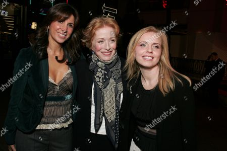 Nathalie Marciano, Holland Taylor and Michelle Chydzik