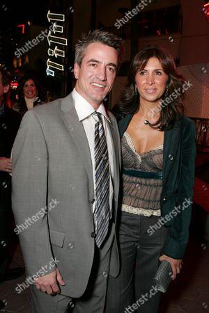 Dermot Mulroney and Producer Nathalie Marciano