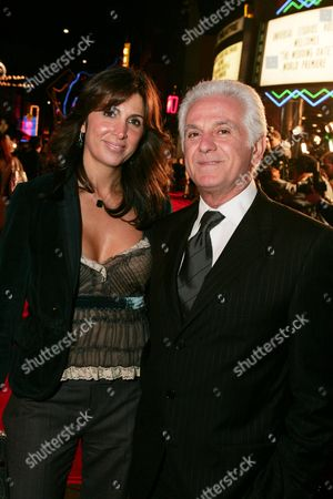 Nathalie Marciano and Fashion Designer Maurice Marciano
