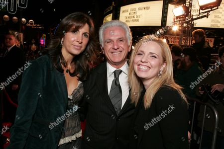 Nathalie Marciano, Maurice Marciano and Michelle Chydzik