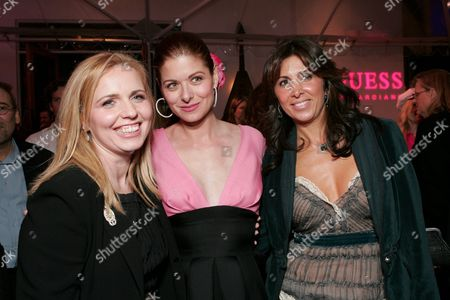 Stock Image of Michelle Chydzik, Debra Messing and Nathalie Marciano
