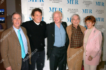 Henry Winkler, Anson Williams, Don Most, Tom Bosley and Marion Ross