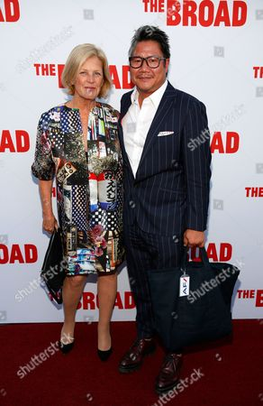 Editorial picture of The Broad Museum Inaugural Celebration, Los Angeles, America - 18 Sep 2015