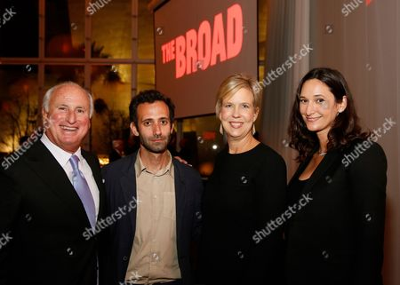 Peter Morton, Alex Israel, Joanne Heyler and Bettina Korek