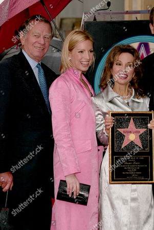 Helmut Huber, Liza Huber and Susan Lucci