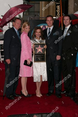 Susan Lucci, Husband Helmut, Liza Huber, Husband Alexander Georg