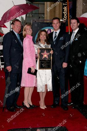 Susan Lucci, Husband Helmut Huber, Liza Huber and Alexander Georg