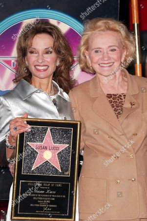Susan Lucci and Agnes Nixon