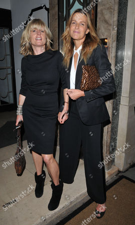 Stock Picture of Rachel Johnson and India Hicks